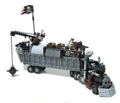 king of the road (psiaki) Tags: truck lego zombie apocalypse semi moc