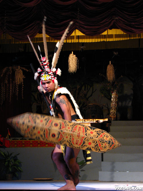 sarawak-warrior