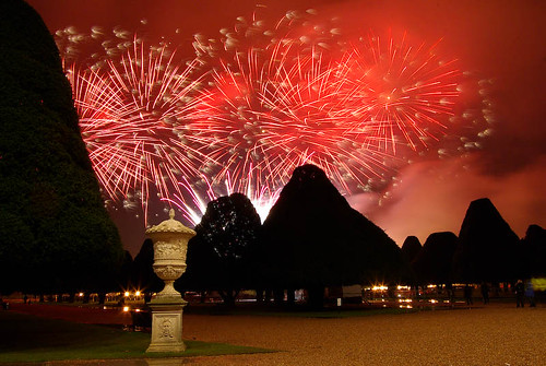 fireworks at Hampton Court