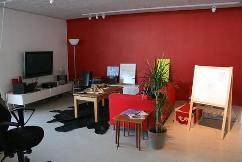 work space corner