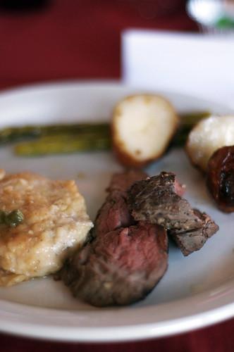 steak dinner.