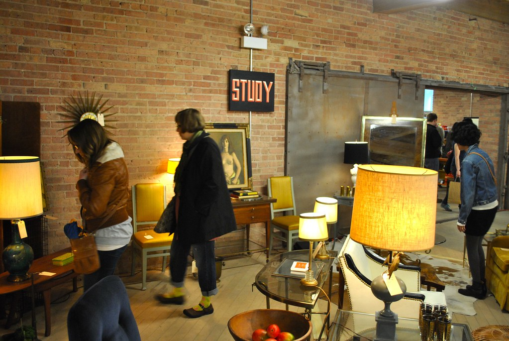 STUDY at The Vintage Bazaar in Pilsen