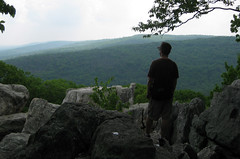 The Green Miles at Catoctin Mountain's Chimney Rock