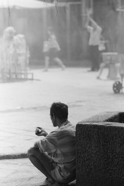 槟城黑白照