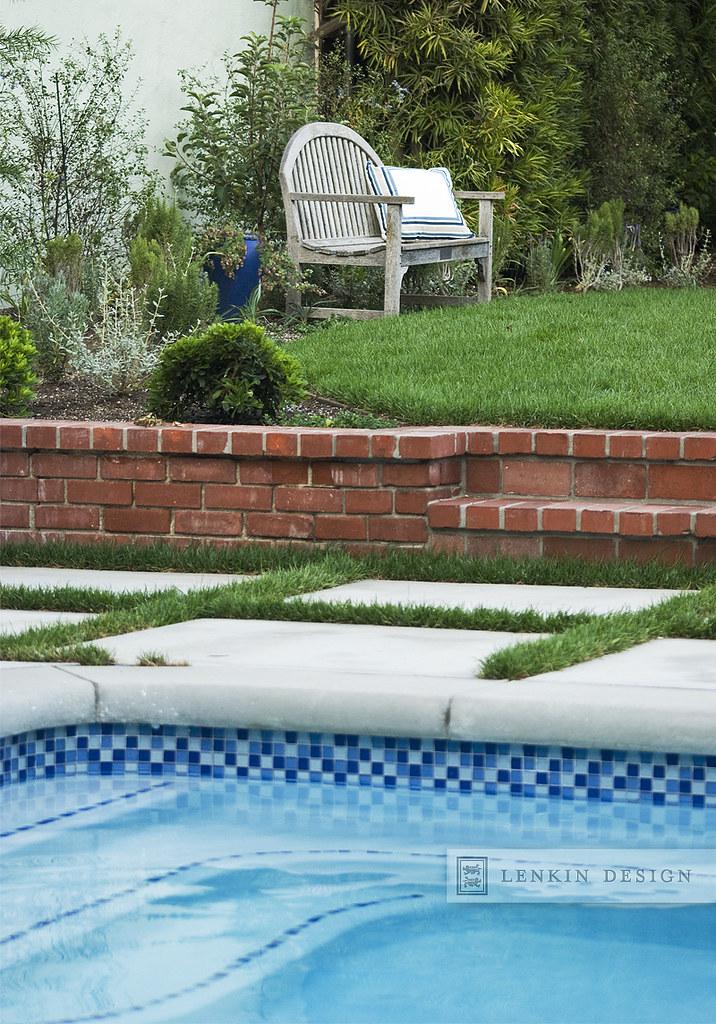 Pool Pavers and Grass