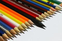 I love my pencils! (Saji F) Tags: black color colour pencil canon colorful blackpencil pencilcollection