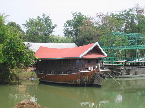Houseboats From Rice Barges