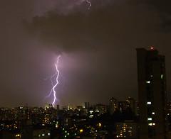 Raio (ImyraSTN) Tags: city cidade storm rain night fuji sopaulo chuva sampa finepix noite tempestade raio s9600 s9100 sampaclick