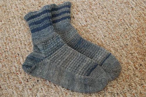 Handspun Socks for DH