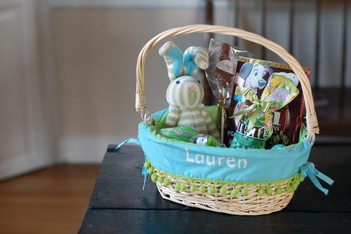 Easter basket - 2008