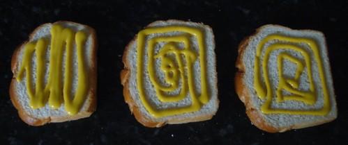 Pão com Mostarda