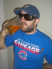 Delusional Cubs Fan prepares for the game