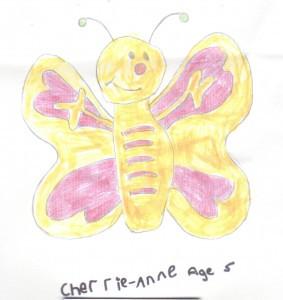 Cherrie-Anne aged 5