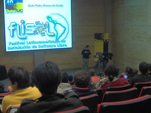 Flisol 2008, Santiago.
