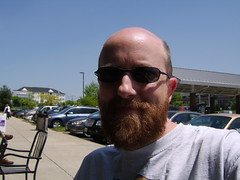 Me @ Starbucks (bearsyr) Tags: bear gay jeff beard glasses starbucks