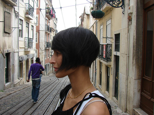 hairstyle long in front short in back. haircut bob2, originally