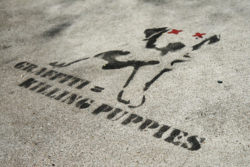 Graffiti = Killing Puppies 6649