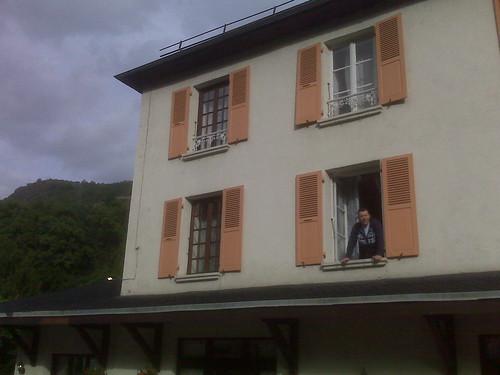 Fred balconscene