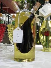 oil and vinegar jar for sale (seekingmuses) Tags: glass pretty farmersmarket winterpark oilandvinegar winterparkfl ifihadthemoney laurenelisekristieandme winterparksfarmersmarket