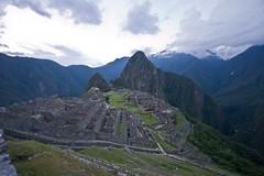 Machu Picchu at Dusk