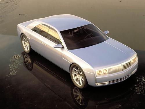 2002 Lincoln Continental Concept. Lincoln Continental Concept