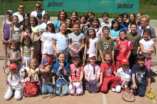 Tournoi du tennis club junior de Crans-Montana
