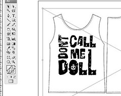 Dont Call Me Doll - T-shirt Design
