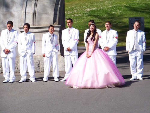 One quinceañera. Photograph: DC Atty/Flickr/Some rights r*s*rv*d