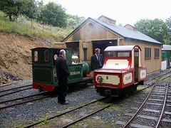Sea Lion & Polar Bear on the Groudle Glen Railway