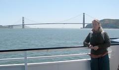 Penelope and the Golden Gate Bridge, San Francisco (headlessmonk) Tags: mexico maya az