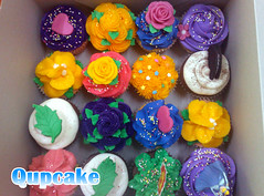 ({ Qupcake }) Tags: pink blue food flower cute cake this yummy yum heart sweet box cook it made cupcake qatar    qupcake