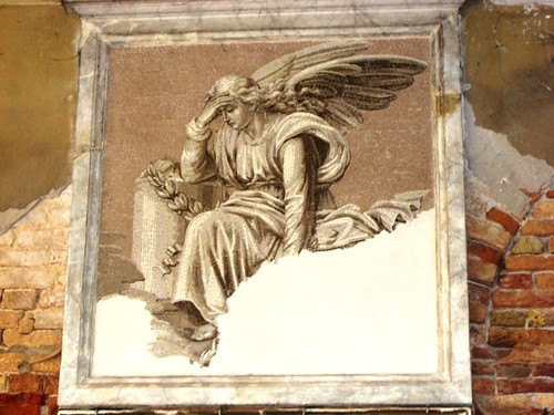 Angel on San Michele in Isola