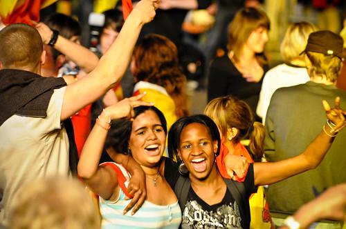 Fanfest Finale: Deutschland vs. Spanien