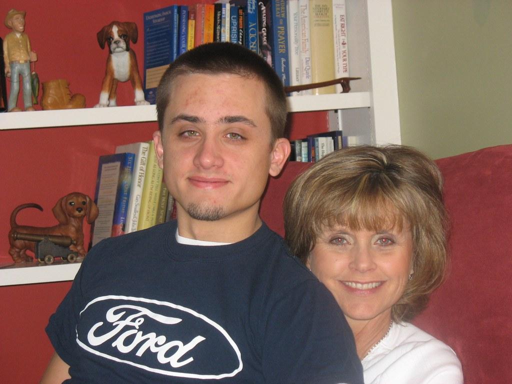 imgsc  Mom & Trae Thanksgiving 2007 (Tammie King IMGSC) Tags: king tammie imgsc