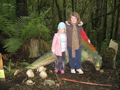 Dinosaurs in the rainforest