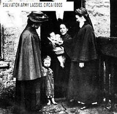 Salvation Army lassies