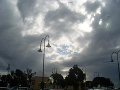 Stormy morning light over Dromana carpark (gemmawiseman11) Tags: beach hub morningtonpeninsula dromana
