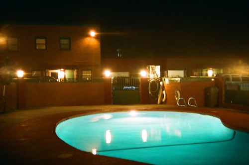 western inn pool-night exposure