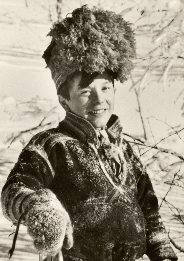 9ce699930fb Sami boy from Sweden (saamiblog) Tags  winter snow hat sweden swedish  sverige sami