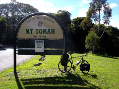 Mt Tomah (dfinnecy) Tags: travel bicycle cycling bell australia bluemountains newsouthwales outback 2008 touring tomah cycletouring mounttomah bellslineofroad