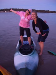 Lora and Renee (Queenbean79) Tags: dolphins kayaking portmacquarie