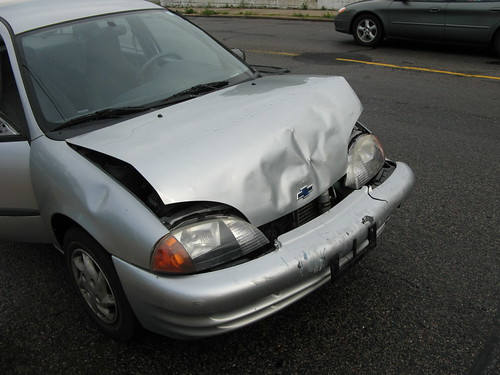 After Accident, Before Fixing - Right