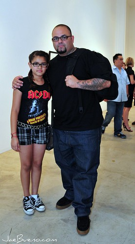 Tattoo Tony & his daughter