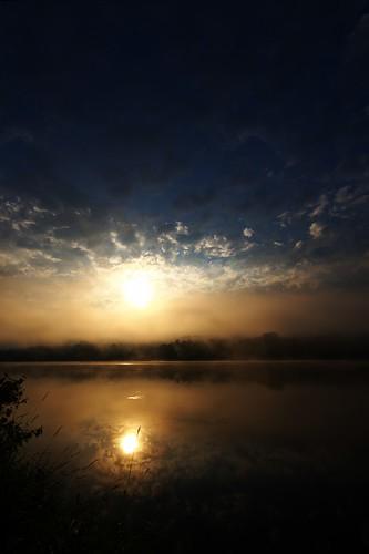 Sunrise at Whitney Point Reservoir