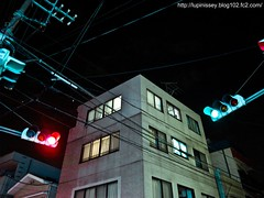 Meguro-ku AM03:15 (Issey Niwa) Tags: road japan night contrast tokyo midnight   meguro