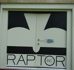 New RAPTOR barn door