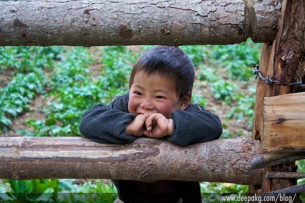 A Boy At Bhutan