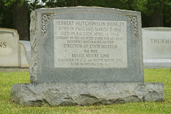 POOR BESSIE (NC Cigany) Tags: sky water grave museum dead nc funny humorous waterfront wwii tombstone humor gray navy raleigh battleship raleighnc capefearriver oakwoodcemetery chauvenism malechauvenism