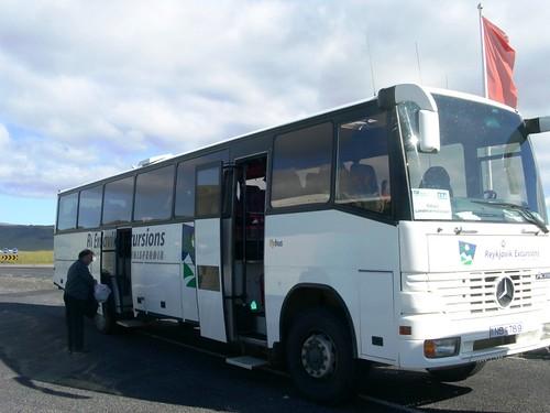 Bus nach Landmannalaugar