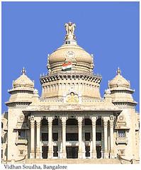 20051007142708bangalore (indusleo) Tags: india temple hindu indianflag chiranjeevi suryanaidus